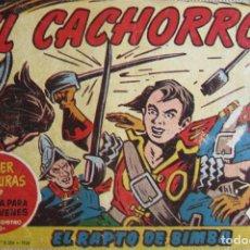 Livros de Banda Desenhada: EL CACHORRO Nº 171, EL RAPTO DE BIMBA. IRANZO. EDITORIAL BRUGUERA, ORIGINAL 1958. Lote 201140342