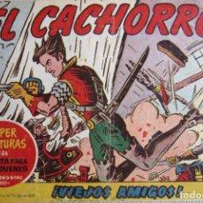 Tebeos: EL CACHORRO Nº 170, VIEJOS AMIGOS. IRANZO. EDITORIAL BRUGUERA, ORIGINAL 1958. Lote 201140587