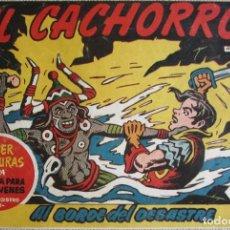 Tebeos: EL CACHORRO Nº 166, AL BORDE DEL DESASTRE. IRANZO. EDITORIAL BRUGUERA, ORIGINAL 1958. Lote 201141295