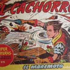 Tebeos: EL CACHORRO Nº 163, EL MAREMOTO. IRANZO. EDITORIAL BRUGUERA, ORIGINAL 1957. Lote 201141793