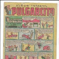 Tebeos: ALBUM INFANTIL PULGARCITO LOTE DE 10 TEBEOS Nº 21 -106 -118 -124 -169 -176 -185 -193 -197 -230 ORIGI. Lote 201157051