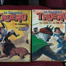 Tebeos: EL REGRESO DEL CAPITÁN TRUENO Y EL CHACAL DE BIR JERARI. Lote 201169823