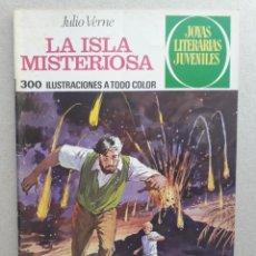 Tebeos: JOYAS LITERARIAS JUVENILES - LA ISLA MISTERIOSA (JULIO VERNE) - ORIGINAL EDITORIAL BRUGUERA. Lote 201198143