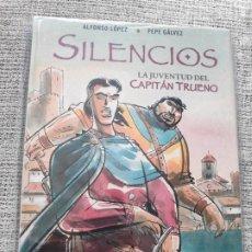 Tebeos: SILENCIOS LA JUVENTUD DEL CAPITÁN TRUENO EDICIONES B. Lote 201233518