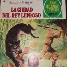 Tebeos: LA CIUDAD DEL REY LEPROSO. EMILIO SALGARI. Lote 201275967