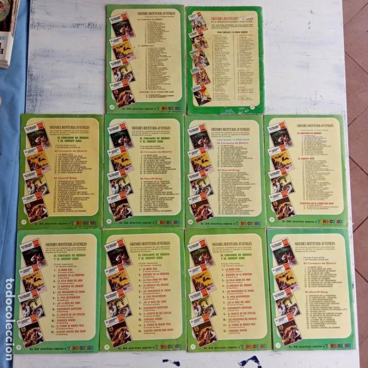 Tebeos: EL CORSARIO DE HIERRO 1ª EDICIÓN DE 15 PTS - 7,9,11,17,19,25,33,37,49,57 - BRUGUERA 1972 - Foto 3 - 201288631