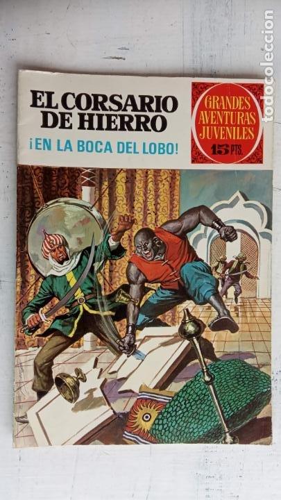 Tebeos: EL CORSARIO DE HIERRO 1ª EDICIÓN DE 15 PTS - 7,9,11,17,19,25,33,37,49,57 - BRUGUERA 1972 - Foto 4 - 201288631