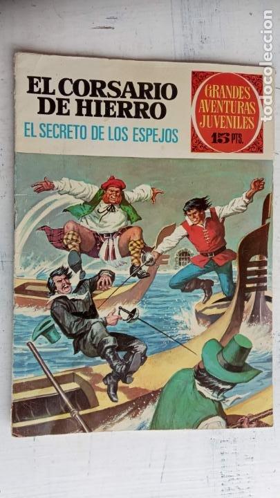 Tebeos: EL CORSARIO DE HIERRO 1ª EDICIÓN DE 15 PTS - 7,9,11,17,19,25,33,37,49,57 - BRUGUERA 1972 - Foto 5 - 201288631