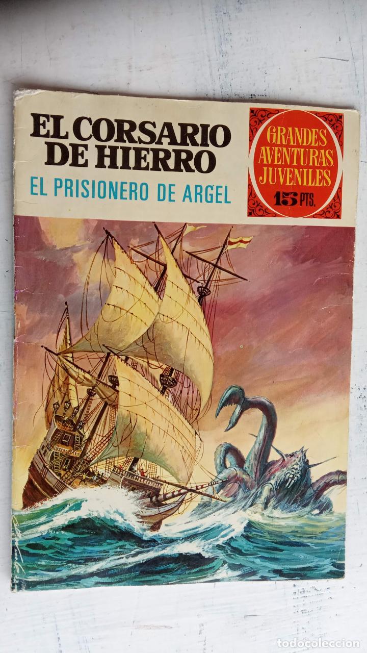 Tebeos: EL CORSARIO DE HIERRO 1ª EDICIÓN DE 15 PTS - 7,9,11,17,19,25,33,37,49,57 - BRUGUERA 1972 - Foto 8 - 201288631