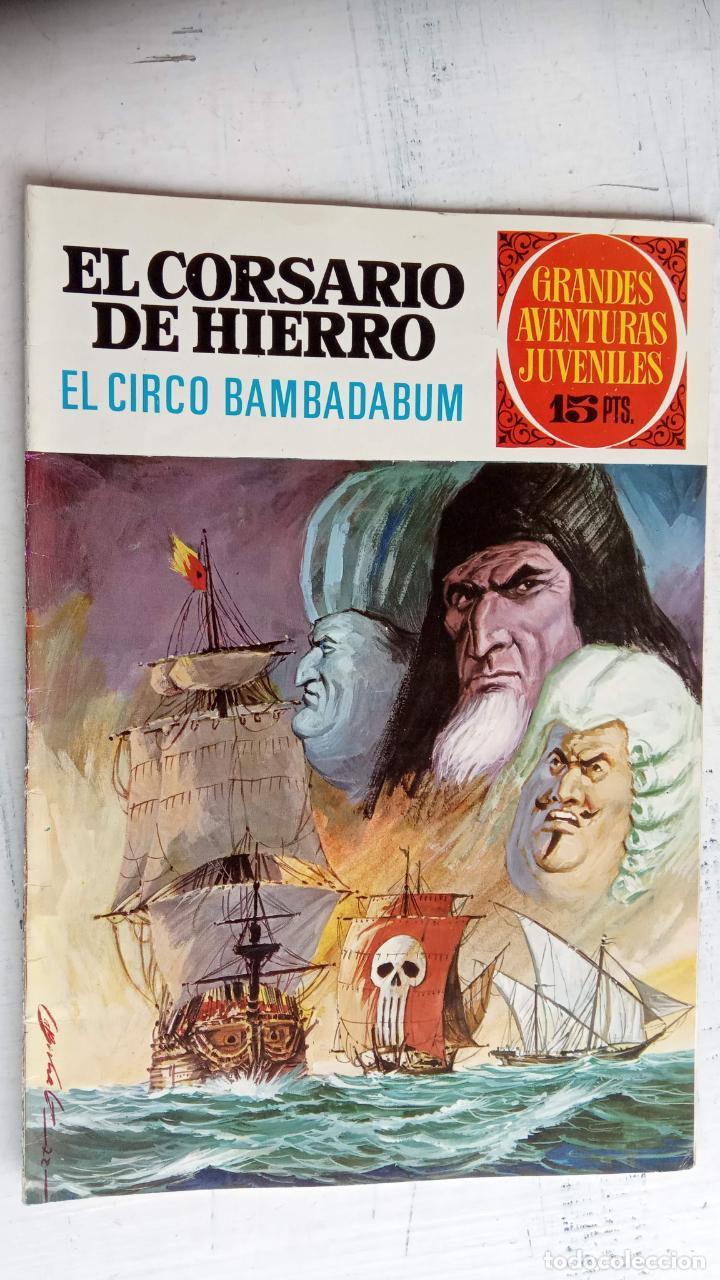 Tebeos: EL CORSARIO DE HIERRO 1ª EDICIÓN DE 15 PTS - 7,9,11,17,19,25,33,37,49,57 - BRUGUERA 1972 - Foto 9 - 201288631