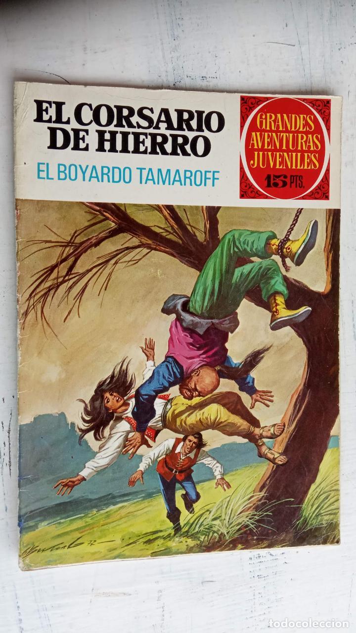 Tebeos: EL CORSARIO DE HIERRO 1ª EDICIÓN DE 15 PTS - 7,9,11,17,19,25,33,37,49,57 - BRUGUERA 1972 - Foto 11 - 201288631