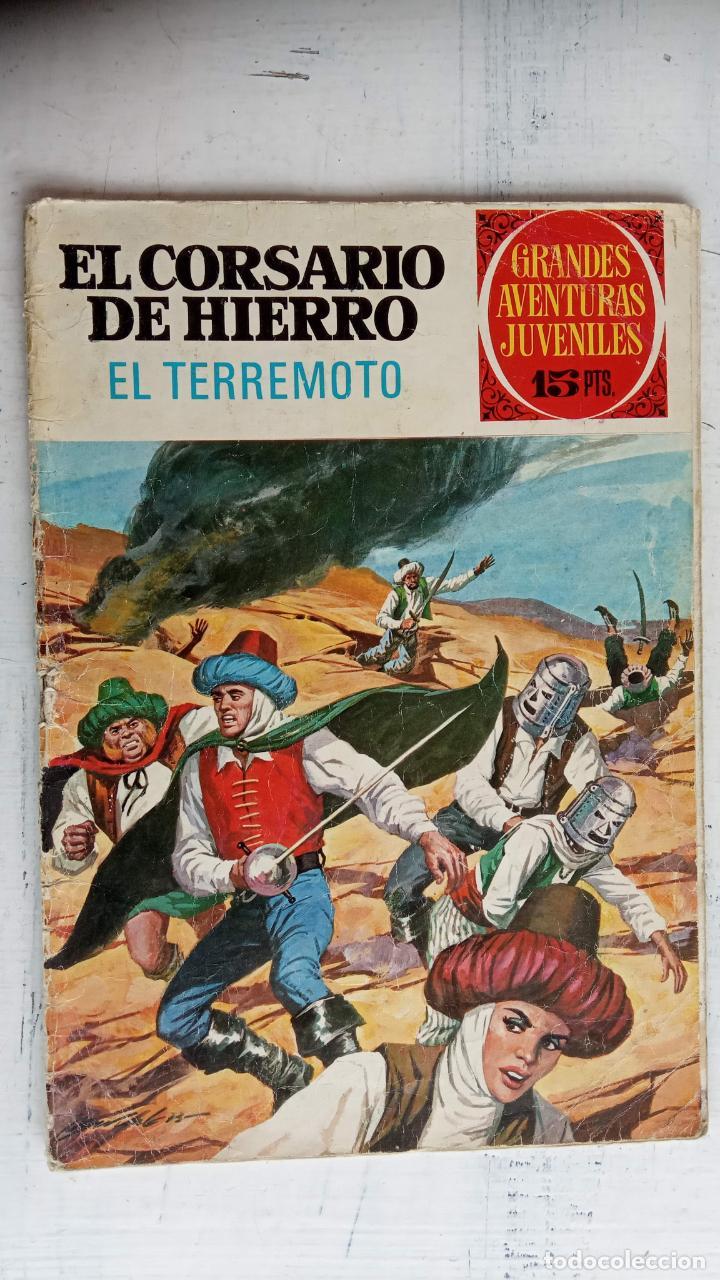 Tebeos: EL CORSARIO DE HIERRO 1ª EDICIÓN DE 15 PTS - 7,9,11,17,19,25,33,37,49,57 - BRUGUERA 1972 - Foto 13 - 201288631
