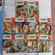 Tebeos: EL CORSARIO DE HIERRO 1ª EDICIÓN DE 15 PTS - 7,9,11,17,19,25,33,37,49,57 - BRUGUERA 1972. Lote 201288631