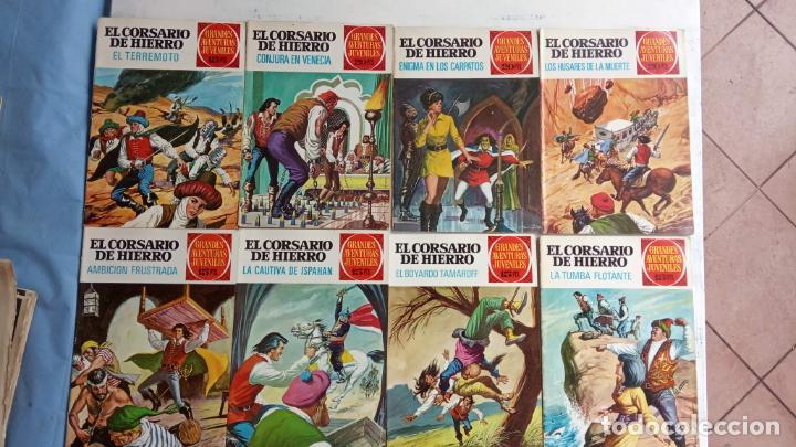 Tebeos: EL CORSARIO DE HIERRO 1ª EDICIÓN 15 PTS. 72,69,65,57,49,37,33,29,25,19,17,15,13,11,9,7,1972 BRUGUERA - Foto 4 - 201289648