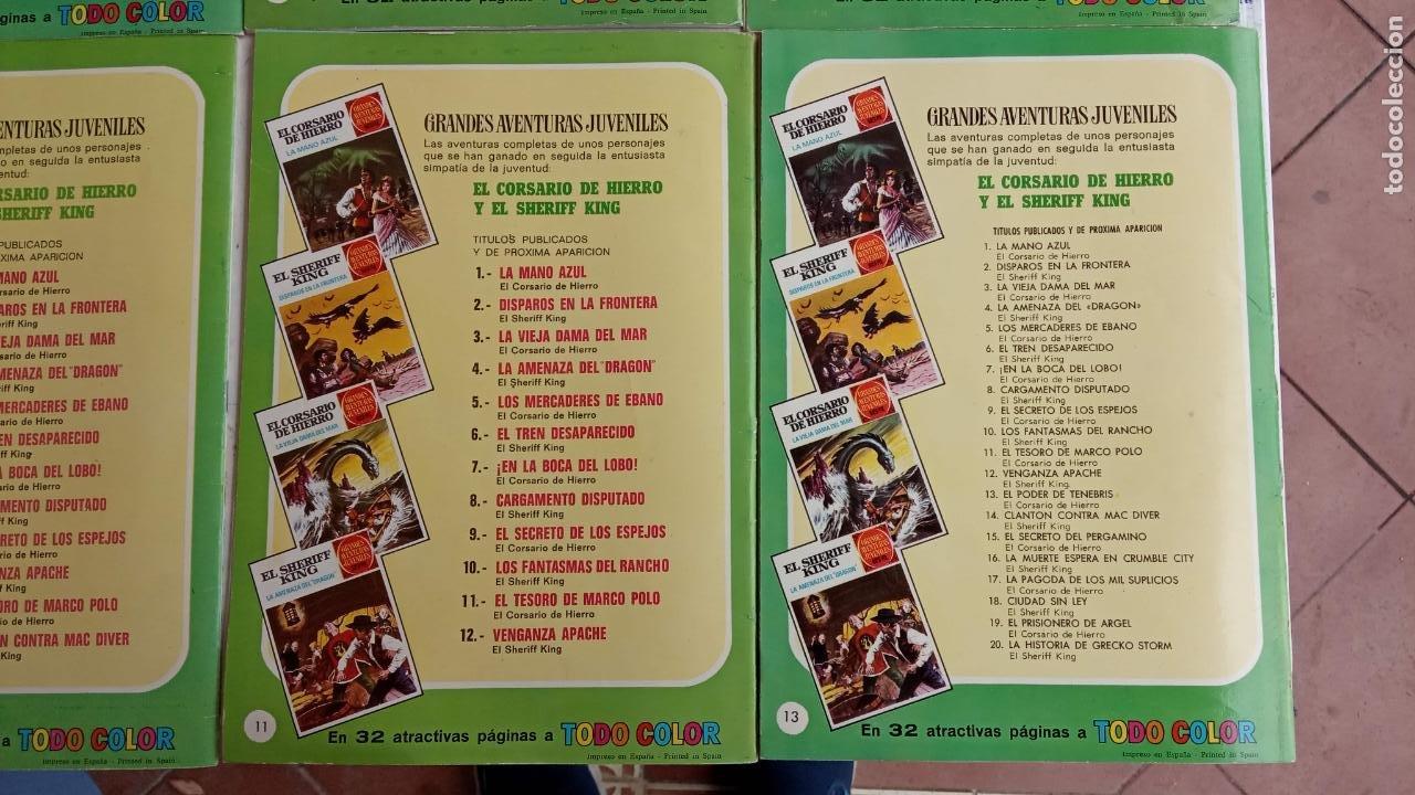 Tebeos: EL CORSARIO DE HIERRO 1ª EDICIÓN 15 PTS. 72,69,65,57,49,37,33,29,25,19,17,15,13,11,9,7,1972 BRUGUERA - Foto 8 - 201289648