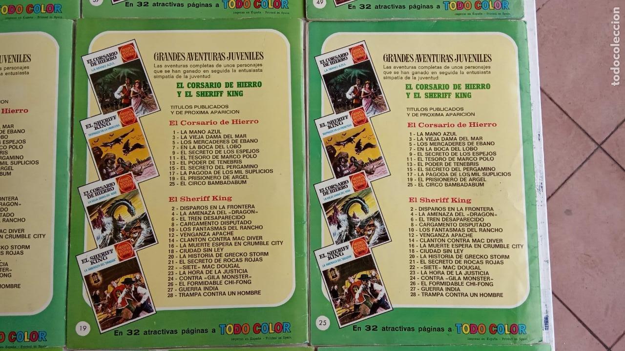 Tebeos: EL CORSARIO DE HIERRO 1ª EDICIÓN 15 PTS. 72,69,65,57,49,37,33,29,25,19,17,15,13,11,9,7,1972 BRUGUERA - Foto 11 - 201289648