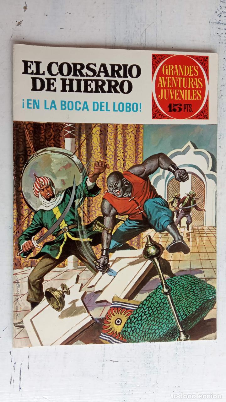 Tebeos: EL CORSARIO DE HIERRO 1ª EDICIÓN 15 PTS. 72,69,65,57,49,37,33,29,25,19,17,15,13,11,9,7,1972 BRUGUERA - Foto 15 - 201289648