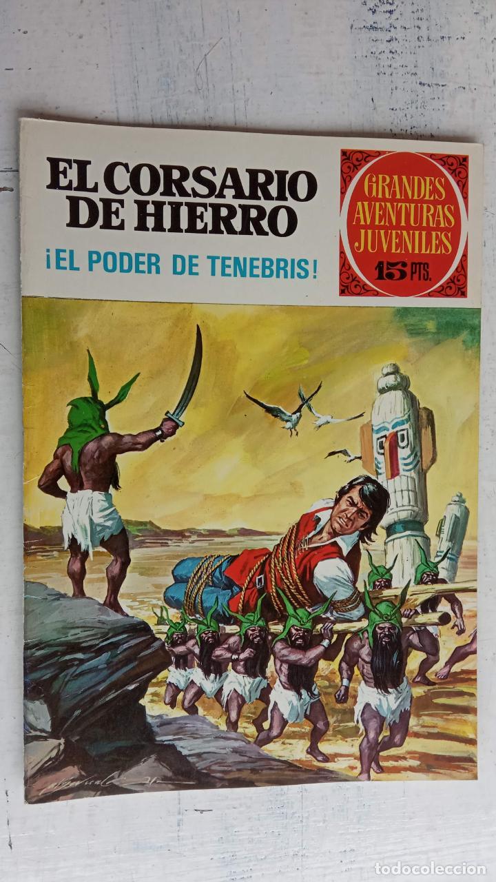 Tebeos: EL CORSARIO DE HIERRO 1ª EDICIÓN 15 PTS. 72,69,65,57,49,37,33,29,25,19,17,15,13,11,9,7,1972 BRUGUERA - Foto 18 - 201289648