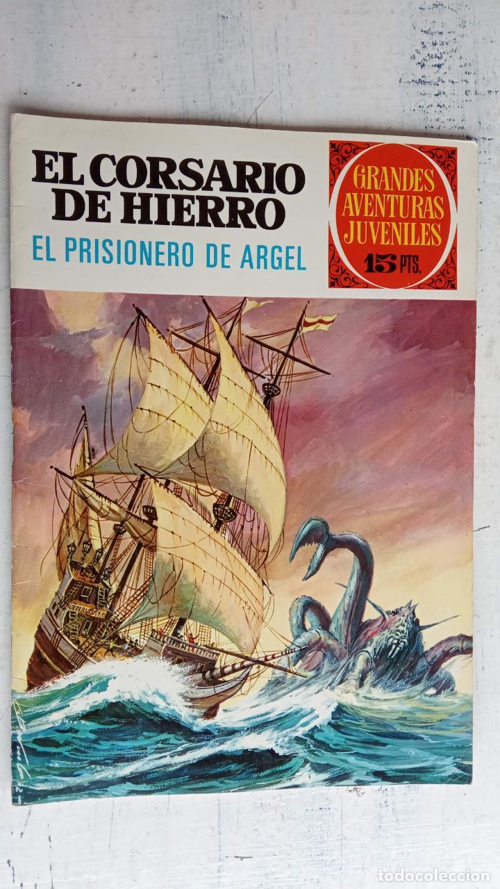Tebeos: EL CORSARIO DE HIERRO 1ª EDICIÓN 15 PTS. 72,69,65,57,49,37,33,29,25,19,17,15,13,11,9,7,1972 BRUGUERA - Foto 21 - 201289648