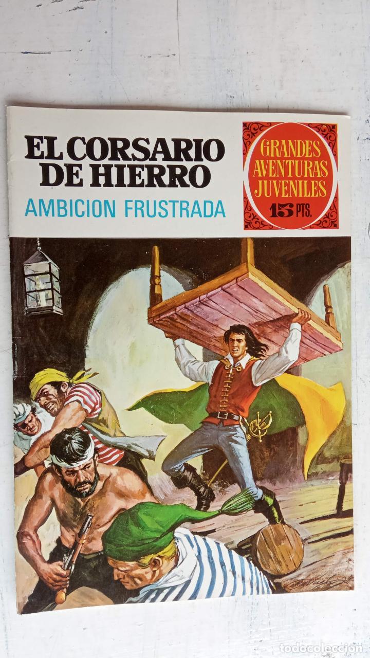 Tebeos: EL CORSARIO DE HIERRO 1ª EDICIÓN 15 PTS. 72,69,65,57,49,37,33,29,25,19,17,15,13,11,9,7,1972 BRUGUERA - Foto 23 - 201289648