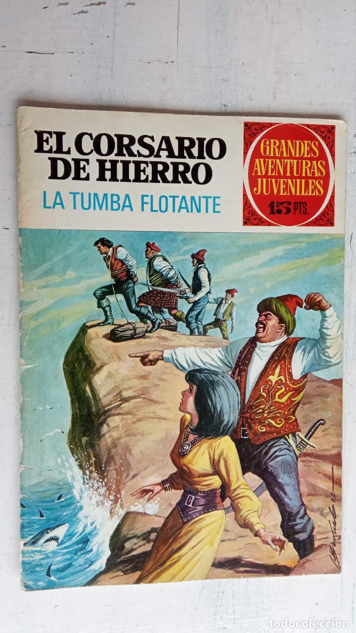 Tebeos: EL CORSARIO DE HIERRO 1ª EDICIÓN 15 PTS. 72,69,65,57,49,37,33,29,25,19,17,15,13,11,9,7,1972 BRUGUERA - Foto 25 - 201289648