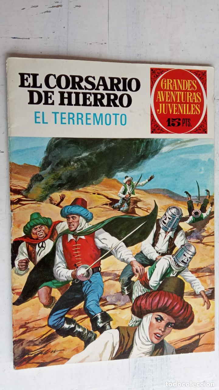 Tebeos: EL CORSARIO DE HIERRO 1ª EDICIÓN 15 PTS. 72,69,65,57,49,37,33,29,25,19,17,15,13,11,9,7,1972 BRUGUERA - Foto 26 - 201289648