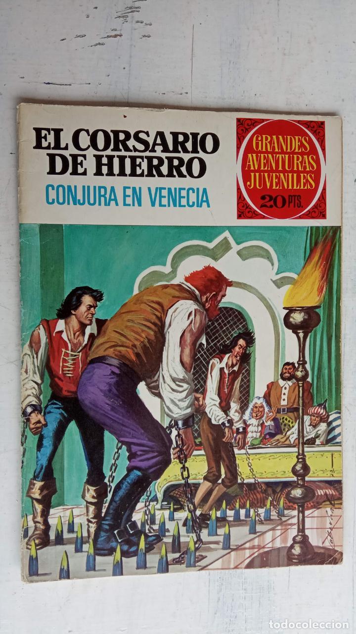 Tebeos: EL CORSARIO DE HIERRO 1ª EDICIÓN 15 PTS. 72,69,65,57,49,37,33,29,25,19,17,15,13,11,9,7,1972 BRUGUERA - Foto 27 - 201289648