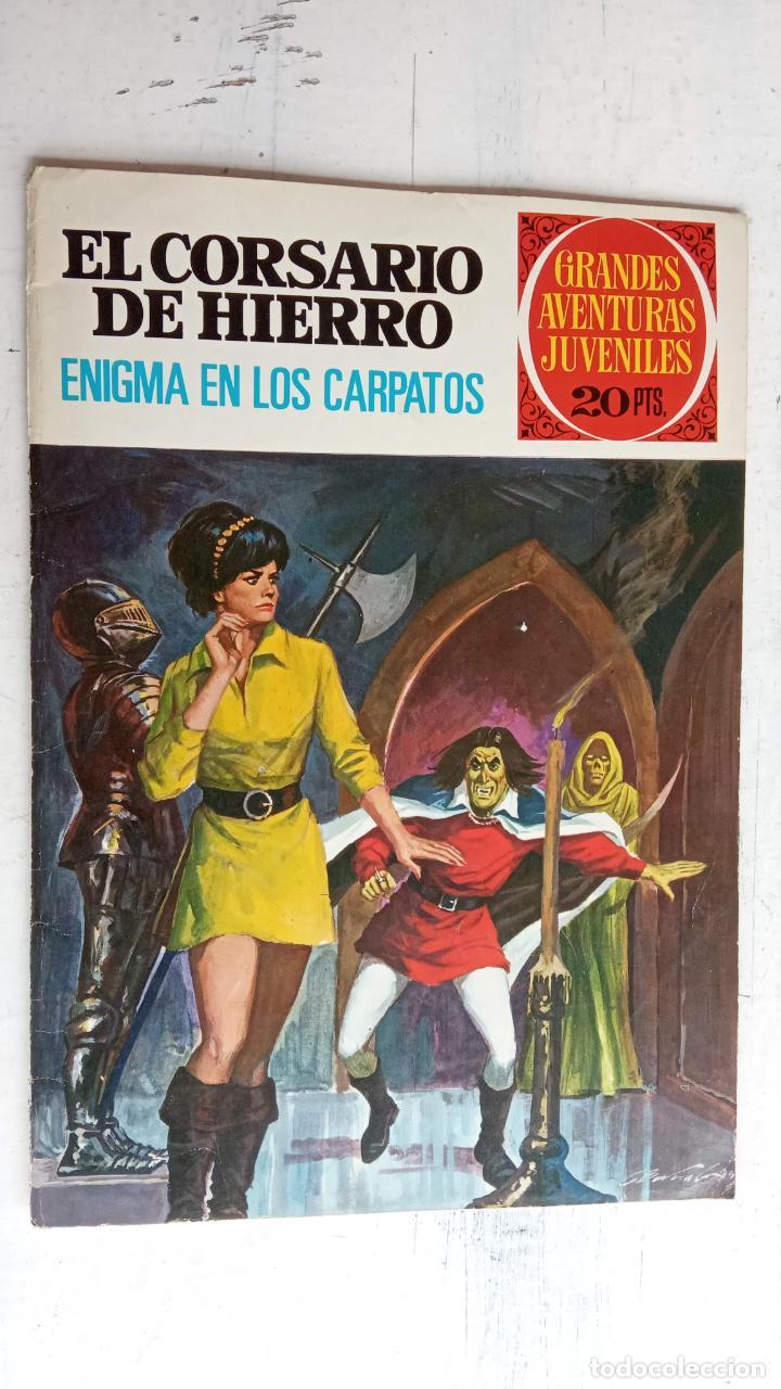 Tebeos: EL CORSARIO DE HIERRO 1ª EDICIÓN 15 PTS. 72,69,65,57,49,37,33,29,25,19,17,15,13,11,9,7,1972 BRUGUERA - Foto 32 - 201289648