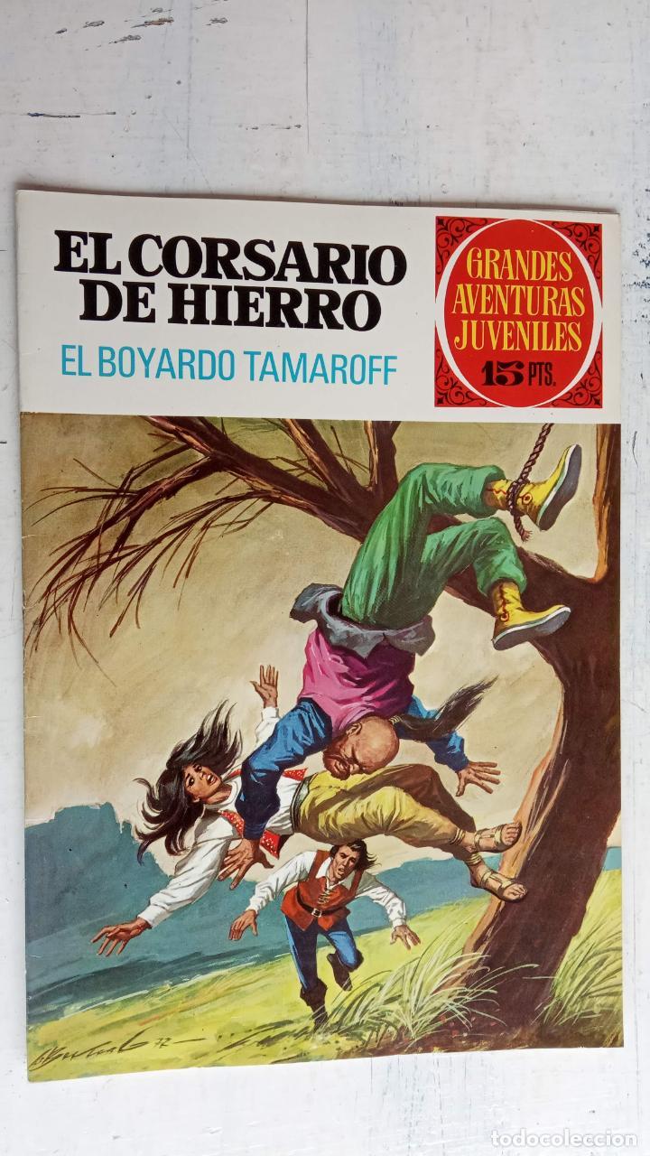 Tebeos: EL CORSARIO DE HIERRO 1ª EDICIÓN 15 PTS. 72,69,65,57,49,37,33,29,25,19,17,15,13,11,9,7,1972 BRUGUERA - Foto 37 - 201289648