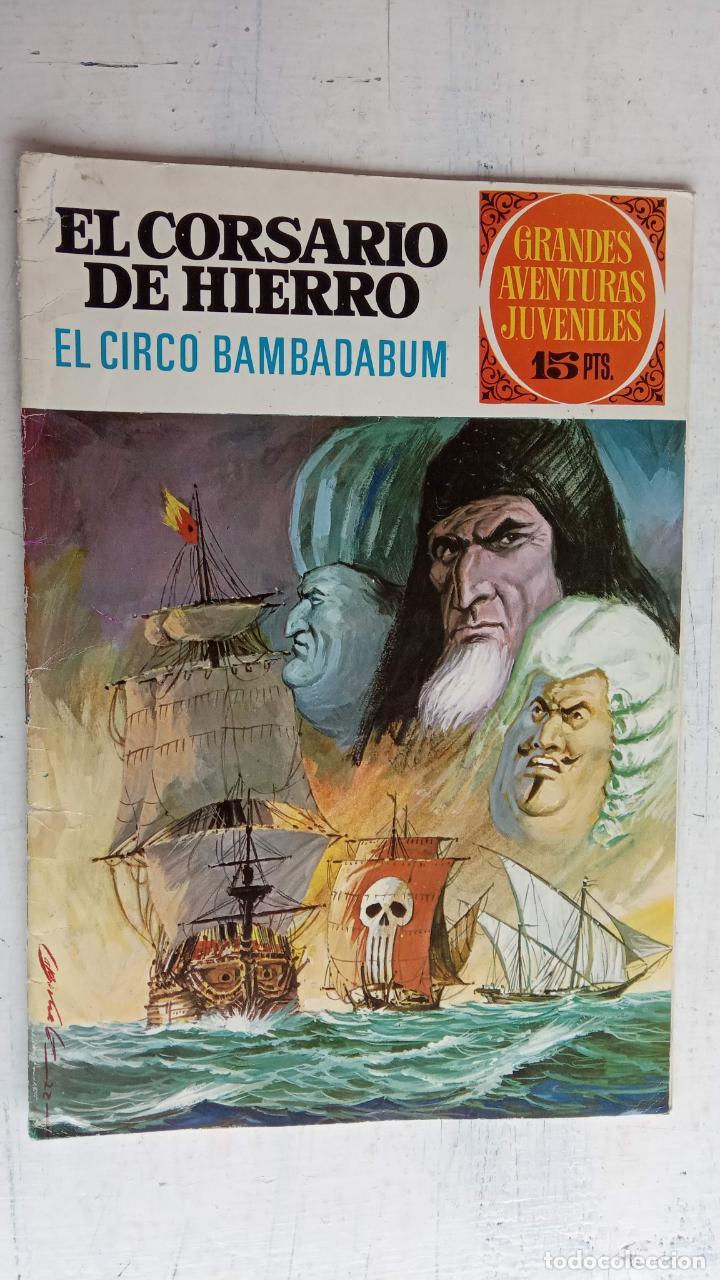 Tebeos: EL CORSARIO DE HIERRO 1ª EDICIÓN 15 PTS. 72,69,65,57,49,37,33,29,25,19,17,15,13,11,9,7,1972 BRUGUERA - Foto 39 - 201289648