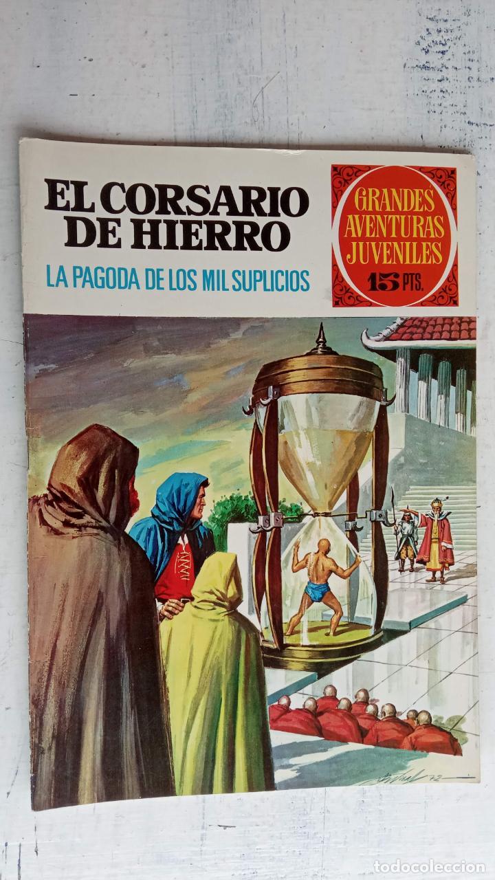 Tebeos: EL CORSARIO DE HIERRO 1ª EDICIÓN 15 PTS. 72,69,65,57,49,37,33,29,25,19,17,15,13,11,9,7,1972 BRUGUERA - Foto 41 - 201289648