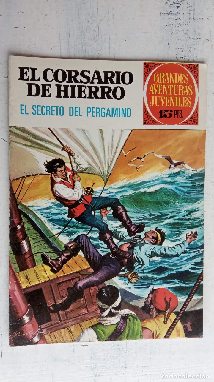 Tebeos: EL CORSARIO DE HIERRO 1ª EDICIÓN 15 PTS. 72,69,65,57,49,37,33,29,25,19,17,15,13,11,9,7,1972 BRUGUERA - Foto 42 - 201289648