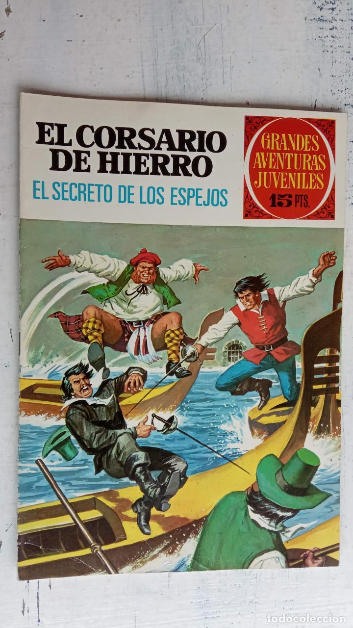 Tebeos: EL CORSARIO DE HIERRO 1ª EDICIÓN 15 PTS. 72,69,65,57,49,37,33,29,25,19,17,15,13,11,9,7,1972 BRUGUERA - Foto 45 - 201289648