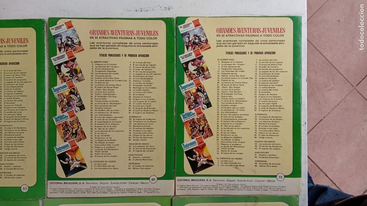 Tebeos: EL CORSARIO DE HIERRO 1ª EDICIÓN 15 PTS. 72,69,65,57,49,37,33,29,25,19,17,15,13,11,9,7,1972 BRUGUERA - Foto 47 - 201289648