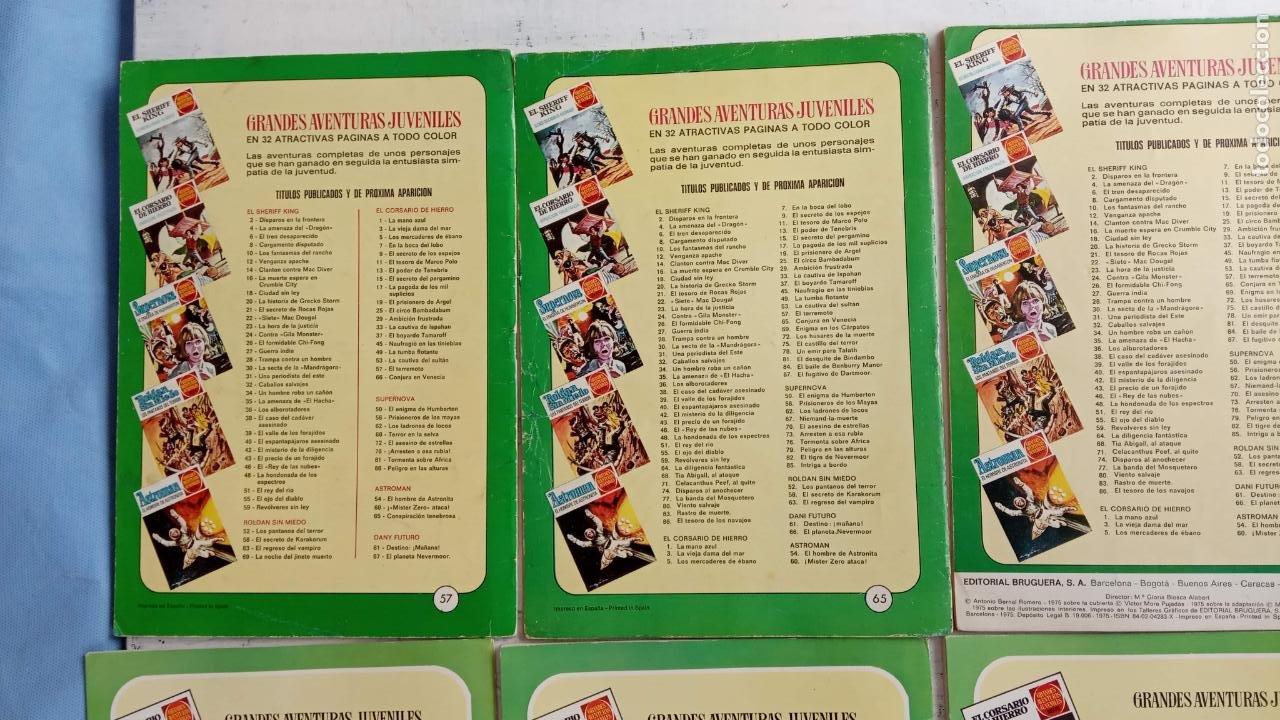 Tebeos: EL CORSARIO DE HIERRO 1ª EDICIÓN 15 PTS. 72,69,65,57,49,37,33,29,25,19,17,15,13,11,9,7,1972 BRUGUERA - Foto 48 - 201289648
