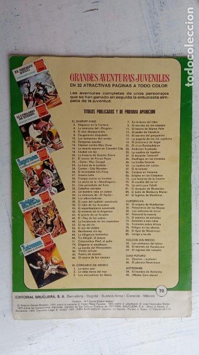 Tebeos: EL CORSARIO DE HIERRO 1ª EDICIÓN 15 PTS. 72,69,65,57,49,37,33,29,25,19,17,15,13,11,9,7,1972 BRUGUERA - Foto 53 - 201289648
