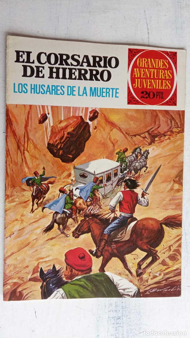 Tebeos: EL CORSARIO DE HIERRO 1ª EDICIÓN 15 PTS. 72,69,65,57,49,37,33,29,25,19,17,15,13,11,9,7,1972 BRUGUERA - Foto 54 - 201289648