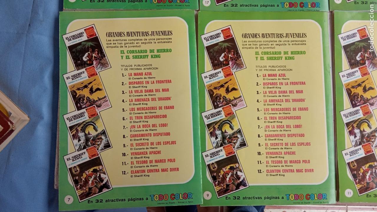 Tebeos: EL CORSARIO DE HIERRO 1ª EDICIÓN 15 PTS. 72,69,65,57,49,37,33,29,25,19,17,15,13,11,9,7,1972 BRUGUERA - Foto 60 - 201289648
