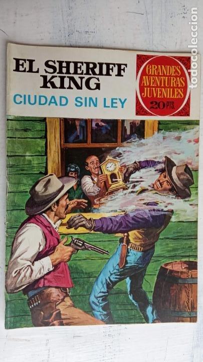 Tebeos: EL SHERIFF KING BRUGUERA NºS- 2,8,14,18,20,21,22,26,30,31,40 - Foto 6 - 201297237