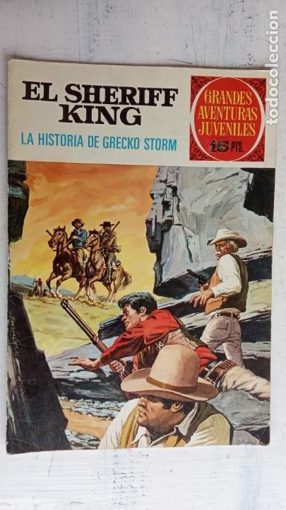 Tebeos: EL SHERIFF KING BRUGUERA NºS- 2,8,14,18,20,21,22,26,30,31,40 - Foto 7 - 201297237