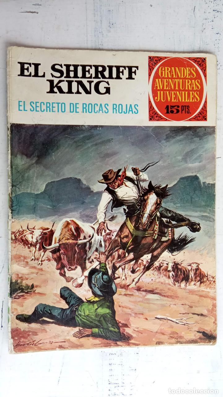 Tebeos: EL SHERIFF KING BRUGUERA NºS- 2,8,14,18,20,21,22,26,30,31,40 - Foto 8 - 201297237