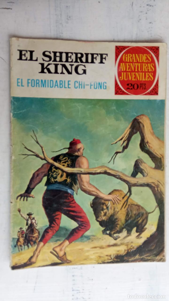Tebeos: EL SHERIFF KING BRUGUERA NºS- 2,8,14,18,20,21,22,26,30,31,40 - Foto 10 - 201297237