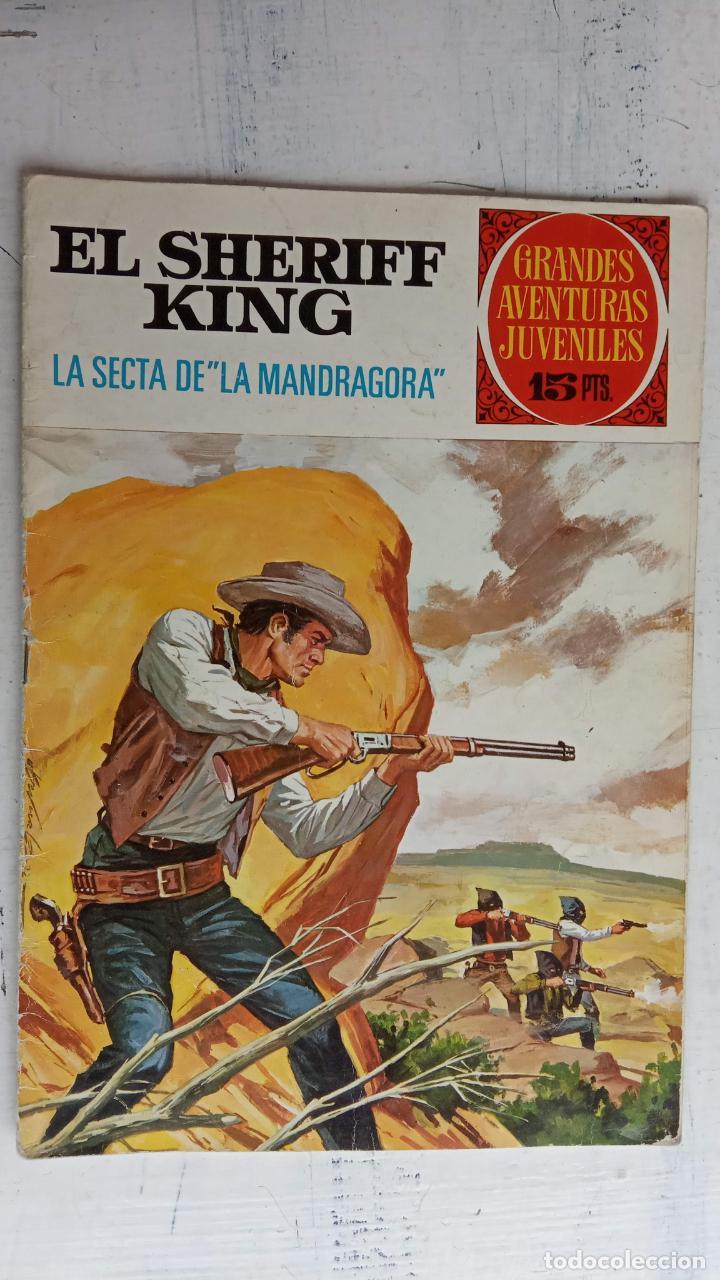 Tebeos: EL SHERIFF KING BRUGUERA NºS- 2,8,14,18,20,21,22,26,30,31,40 - Foto 11 - 201297237