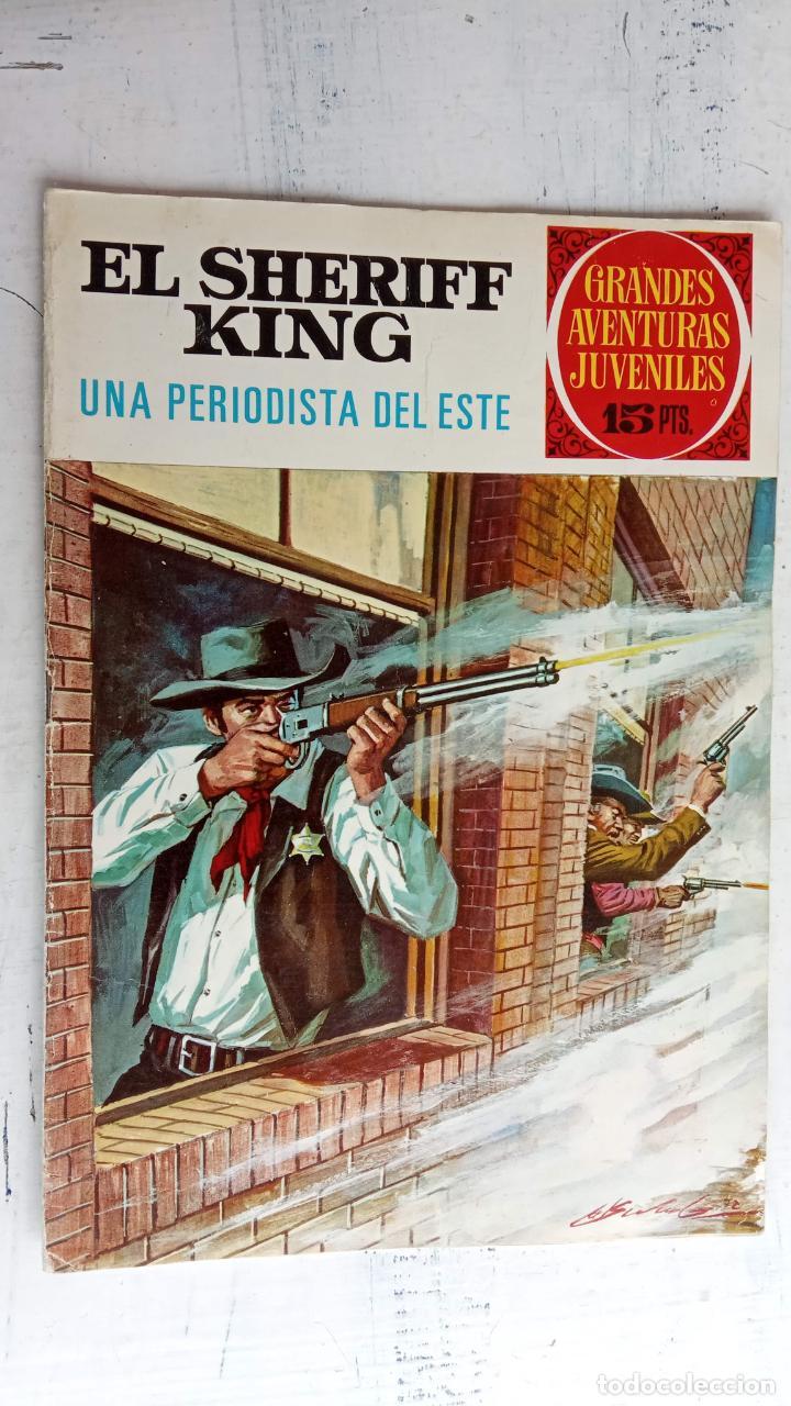 Tebeos: EL SHERIFF KING BRUGUERA NºS- 2,8,14,18,20,21,22,26,30,31,40 - Foto 12 - 201297237