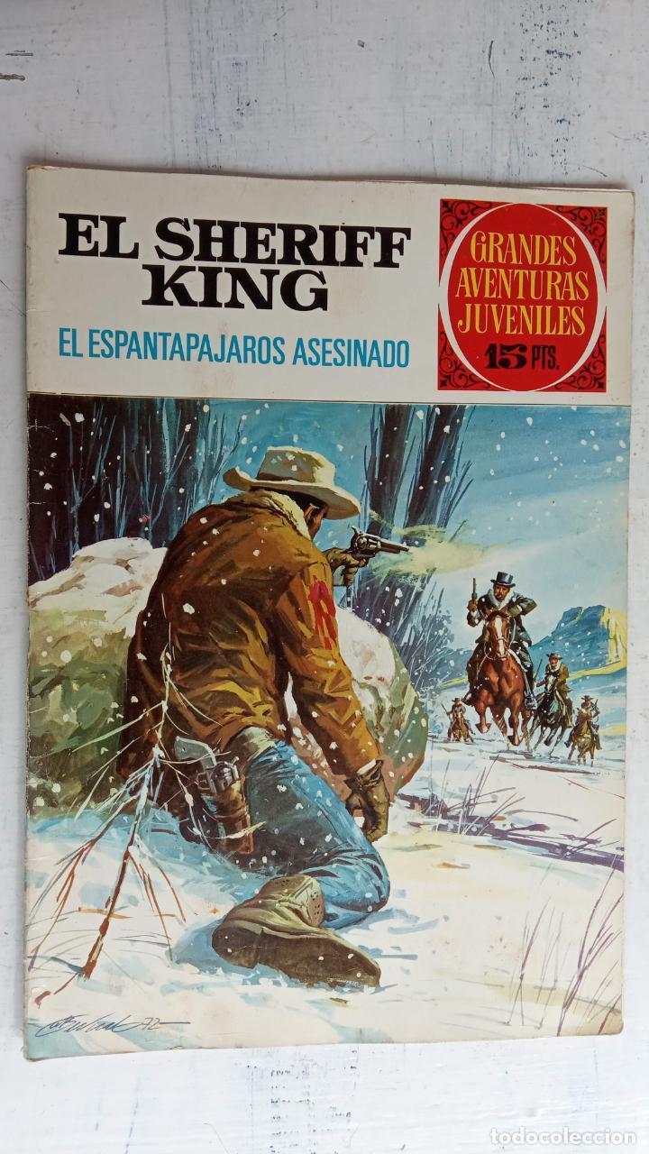 Tebeos: EL SHERIFF KING BRUGUERA NºS- 2,8,14,18,20,21,22,26,30,31,40 - Foto 13 - 201297237
