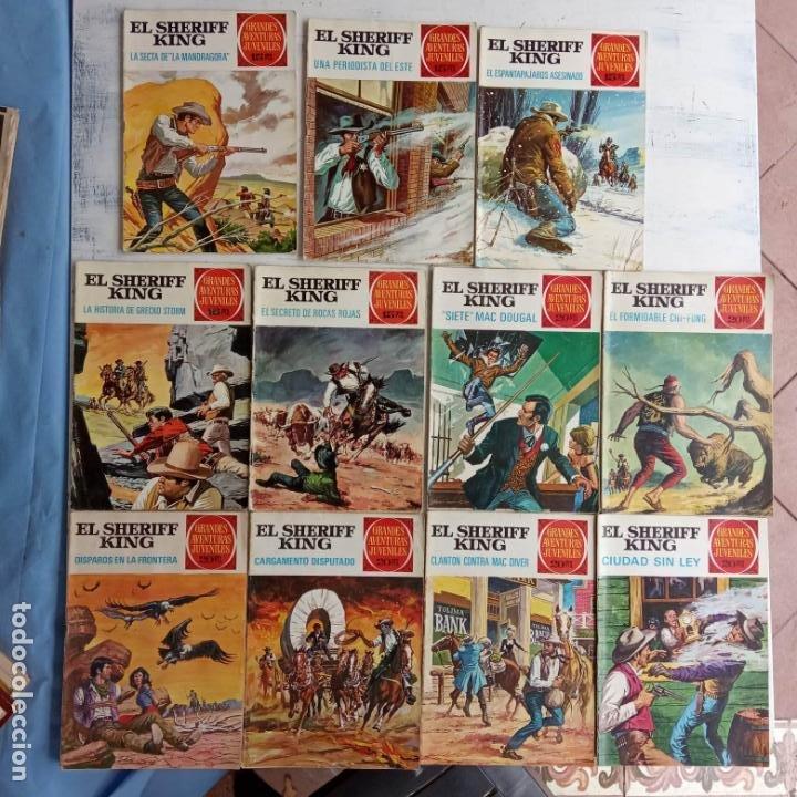 EL SHERIFF KING BRUGUERA NºS- 2,8,14,18,20,21,22,26,30,31,40 (Tebeos y Comics - Bruguera - Sheriff King)