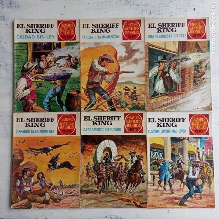 Tebeos: EL SHERIFF KING BRUGUERA NºS - 2 (1),8,14,18,30,31, - Foto 2 - 201298948