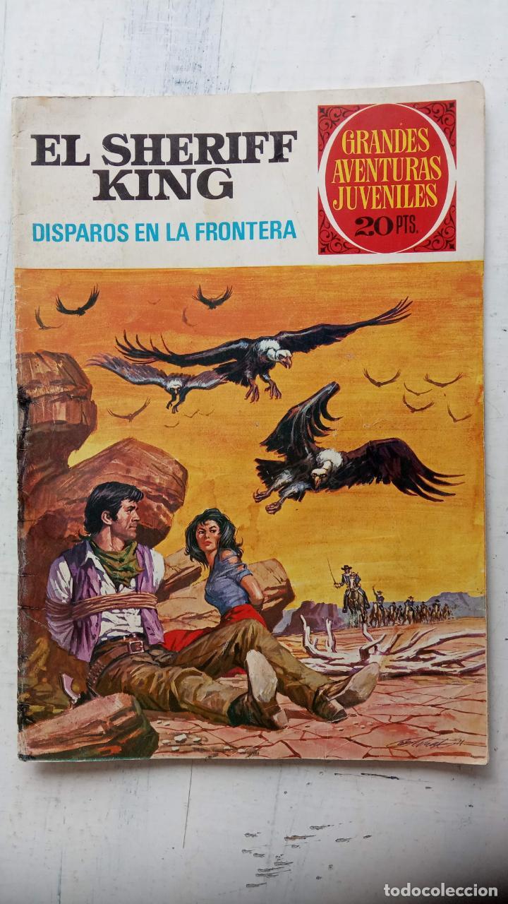 Tebeos: EL SHERIFF KING BRUGUERA NºS - 2 (1),8,14,18,30,31, - Foto 4 - 201298948