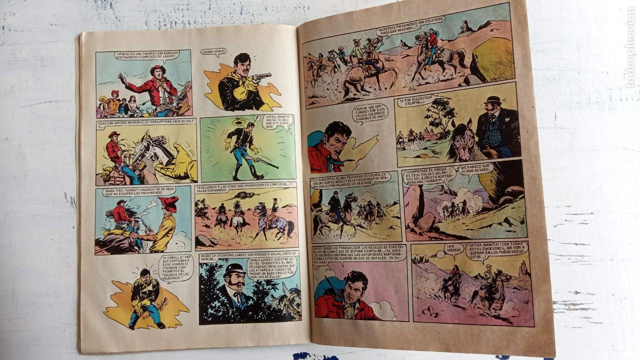 Tebeos: EL SHERIFF KING BRUGUERA NºS - 2 (1),8,14,18,30,31, - Foto 8 - 201298948