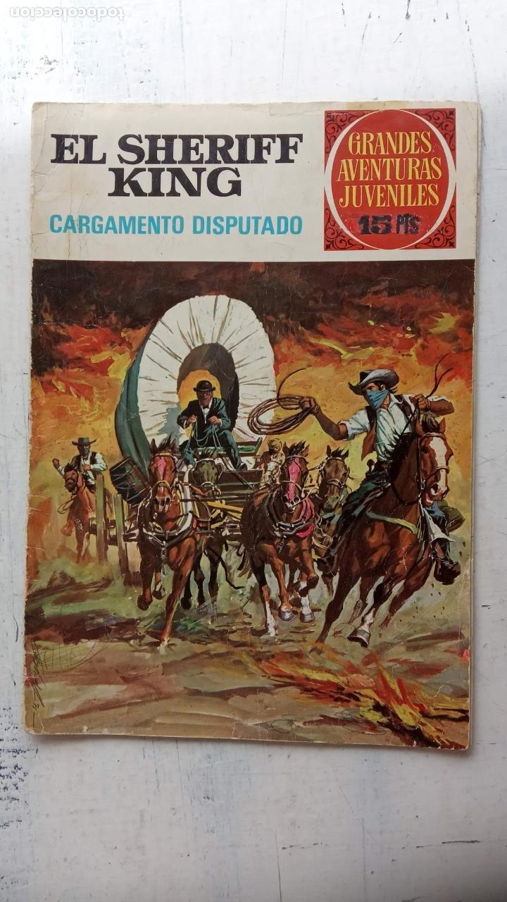 Tebeos: EL SHERIFF KING BRUGUERA NºS - 2 (1),8,14,18,30,31, - Foto 9 - 201298948